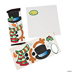 Snowman Candy Bar Cover Craft Kit