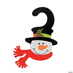 Snowman Door Hanger Craft Kit