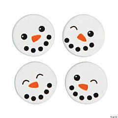 Snowman Face Beads
