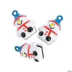 Snowman Jingle Bell Charms
