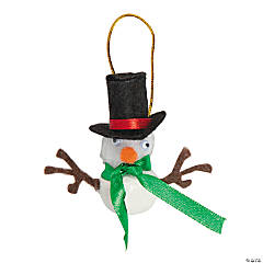 Snowman Jingle Bellies Ornament Craft Kit