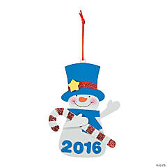 2015/2016 Snowman Ornament Craft Kit
