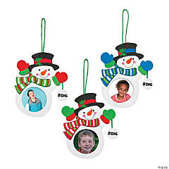 2015/2016 Snowman Photo Ornament Craft Kit