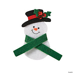 Snowman Pin Craft Kit