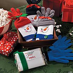 Snowman Popcorn Christmas Gift Iea