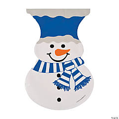Snowman-Shaped Cellophane Bags