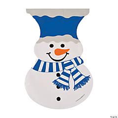 Snowman-Shaped Cellophane Bags