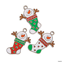 Snowman Stocking Charms