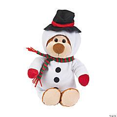 Snowman Stuffed Bear
