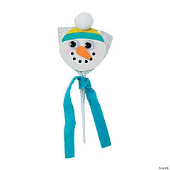Snowman Swirl Pop Craft Kit