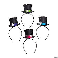 Snowman Top Hat Headbands
