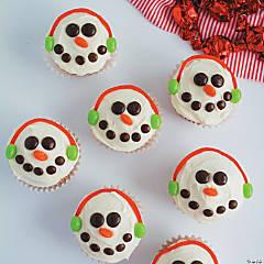 Snowmen Cupcakes Recipe