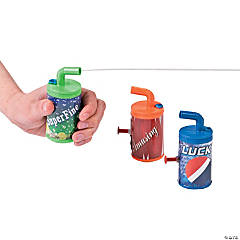 Soda Pop Squirt Guns