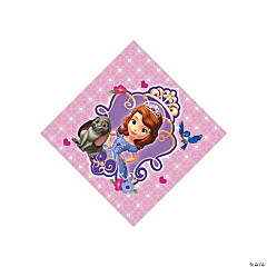 Sofia The First Beverage Napkins