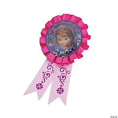 Sofia the First Confetti Pouch Award Ribbon