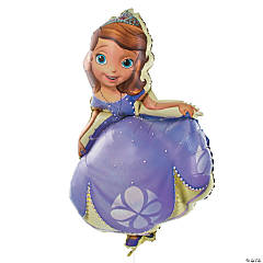 Sofia the First-Shaped Mylar Balloon