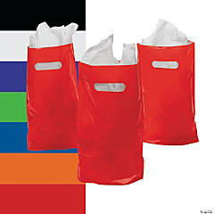 Solid Color Gift Bags