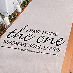 Song of Solomon Aisle Runner