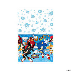 Sonic™ the Hedgehog Plastic Tablecloth