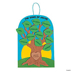 Sons of Jacob Family Tree Craft Kit