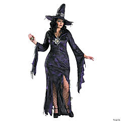 Sorceress Plus Size Adult Women's Costume