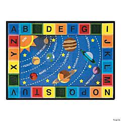 Space Alphabet® Classroom Rug