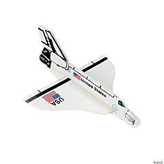 Space Shuttle Foam Gliders