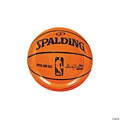 Spalding® Basketball Paper Dessert Plates