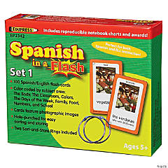 Spanish in a Flash™ Set 1