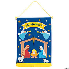 Spanish Nativity Banner Craft Kit