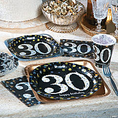 Party themes party theme ideas party kits for 30th birthday party decoration packs