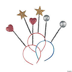 Sparkling Cosmic Head Boppers - 12 Pc.