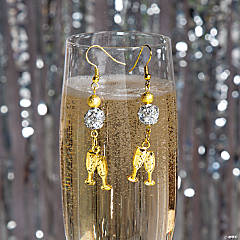Sparkling New Year's Earrings