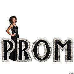 Sparkling Night Prom Cardboard Stand-Ups
