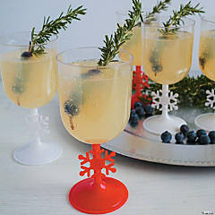 Sparkling Pear & Berry Christmas Cocktail Recipe