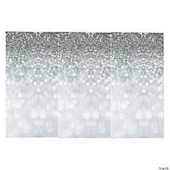 Sparkling Silver Vinyl Backdrop