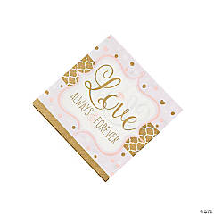 Sparkling Wedding Luncheon Napkins