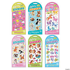 Sparkly Glitter Sticker Set