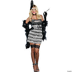 Speak Easy Vixen Flapper Costume For Women