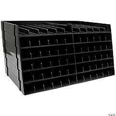 Spectrum Noir Marker Storage Trays Black 6/Pkg - Empty, Hold 72