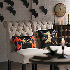 Spellbound Throw Pillows Halloween Décor