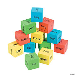 Spelling Math Dice