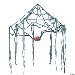 Spider Canopy Web With Light-Up Eyes Party Light