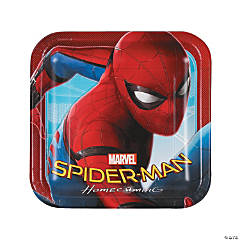 Spider-Man™ Homecoming Square Paper Dinner Plates