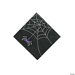 Spider Web Beverage Napkins