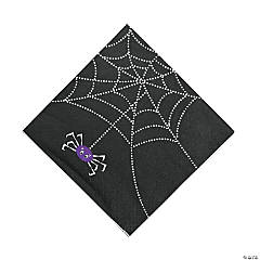 Spider Web Luncheon Napkins