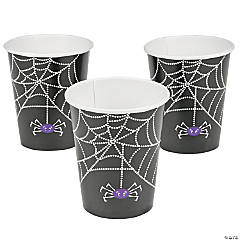 Spider Web Paper Cups