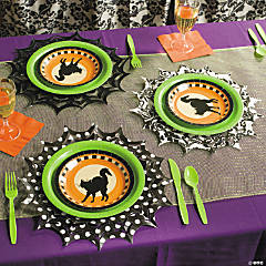 Spider Web Placemats Idea