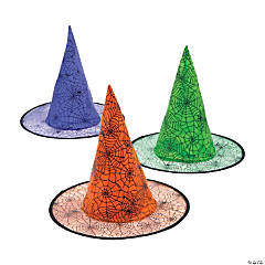 Spider Web Witch Hats