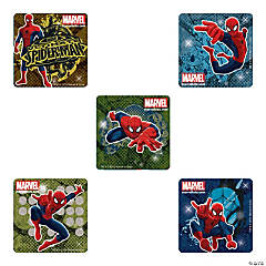 Spiderman Glitter Stickers